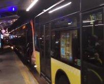 Sefaköy'de metrobüs arızası