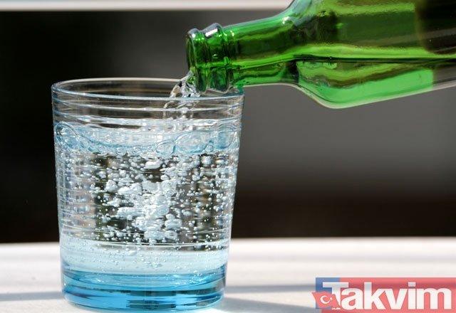 Maden suyu içenler dikkat!