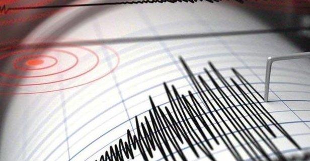 Datça'da korkutan deprem