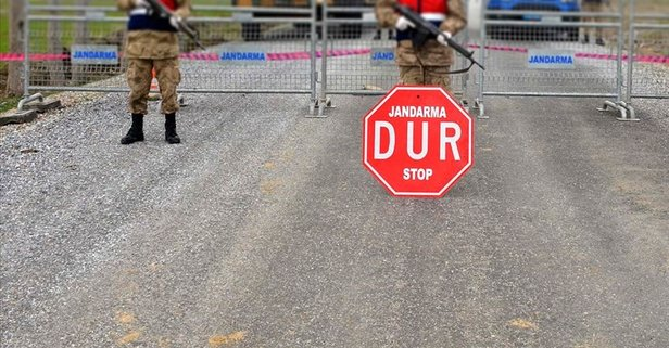 Burdur'da bir köy karantinaya alındı!