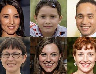 Bu fotoğraftakilerin bazıları gerçek insan değil! Dikkatlice bakın...