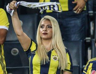 Beşiktaşlı taraftar Fenerbahçe tribününde | Fenerbahçe - Beşiktaş derbisinden kareler