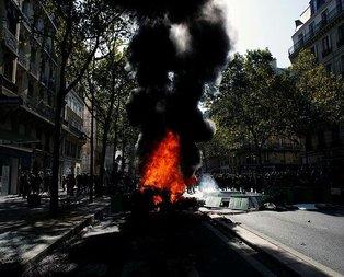 Paris yangın yeri!