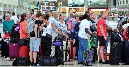 Ocak'ta turist sayısı % 38 arttı