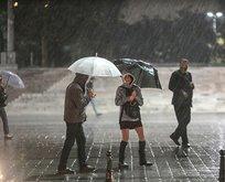 Meteoroloji'den bu bölgelere kuvvetli yağış uyarısı