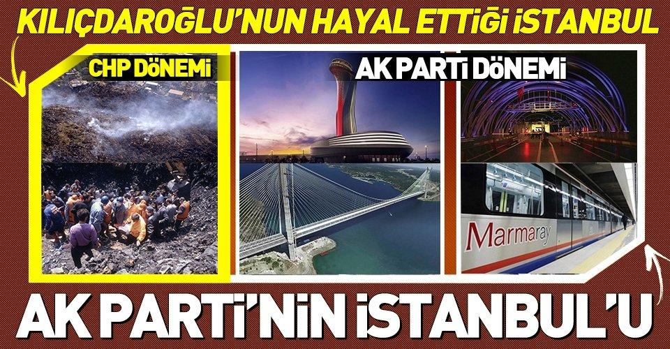 Kılıçdaroğlunun İstanbul iftirasına Erdoğanın sözleriyle yanıt
