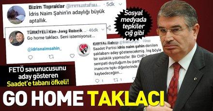 İdris Naim Şahin'in adaylığı Saadet Partisi'ni karıştırdı! Sosyal medyadan tepkiler çığ gibi