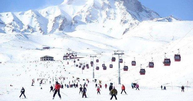 Erciyes'e 5 ayda 2 milyon ziyaretçi