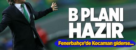 Fenerbahçe'de B planı hazır