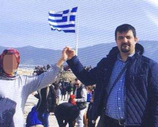 Yunanistan'a kaçtı! Bu pozla birlikte bakın ne yazdı