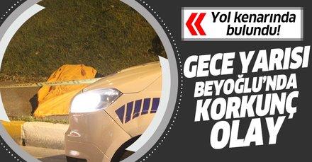 Beyoğlu'nda 22 yaşında erkek cesedi bulundu