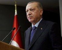 Erdoğan'dan o aileye taziye mesajı