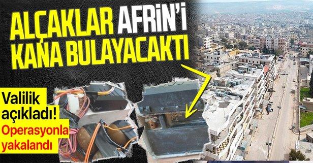 PYD/YPG Afrin'i kana bulayacaktı!