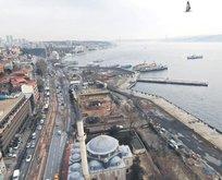 Kabataş metro istasyonu için yapılan çalışmalar sırasında antik liman çıktı