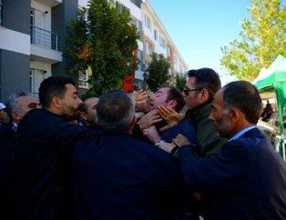 Kılıçdaroğluna şehit evi ziyaretinde protesto