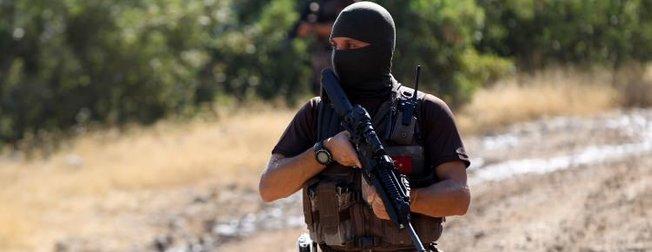 40 derece sıcakta PKK'lı avı!