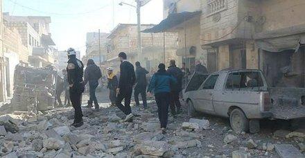 İdlib'de bomba yüklü araçlarla saldırı! En az 15 ölü, 30 yaralı