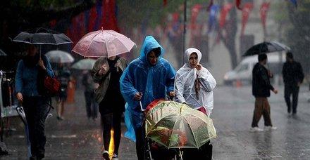 Hava durumu: Meteoroloji'den sağanak uyarısı! İstanbul ve Ankara hava durumu