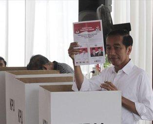 Endonezya'da seçim sonucu açıklandı