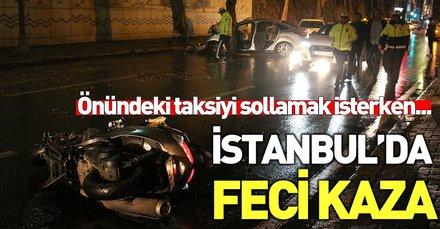 Son dakika: Beşiktaş'ta feci kaza! Ölü ve yaralı var...