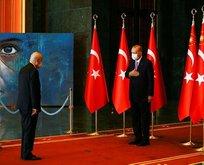 Erdoğan Külliye'de tebrikleri kabul etti