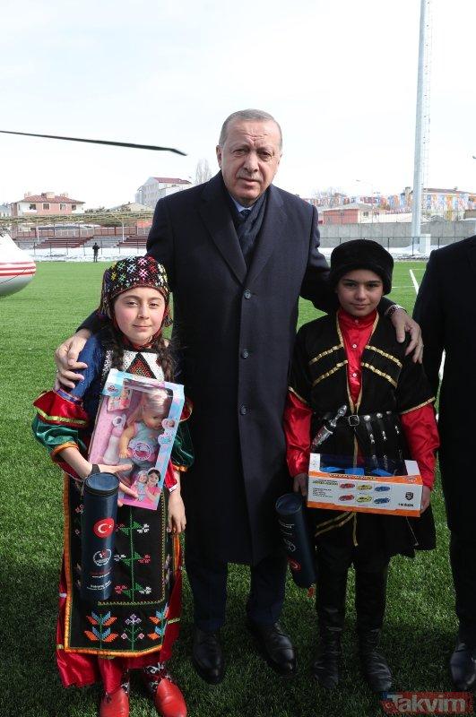 Başkan Erdoğan'dan Ardahan'a iki müjde!
