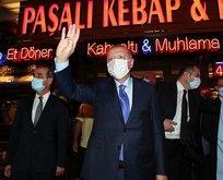 Başkan Erdoğan'a Üsküdar'da sevgi seli