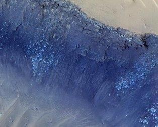 NASA paylaştı! Mars'ta...