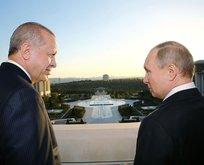 Başkan Erdoğan Putin ile görüştü