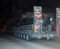 Irak sınırında dev sevkiyat