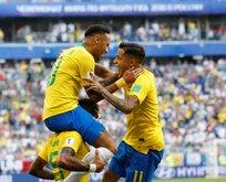 Rusyada samba! Brezilya çeyrek finalde!
