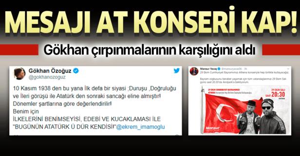 CHP sözcülüğüne soyunan Özoğuz konseri kaptı!