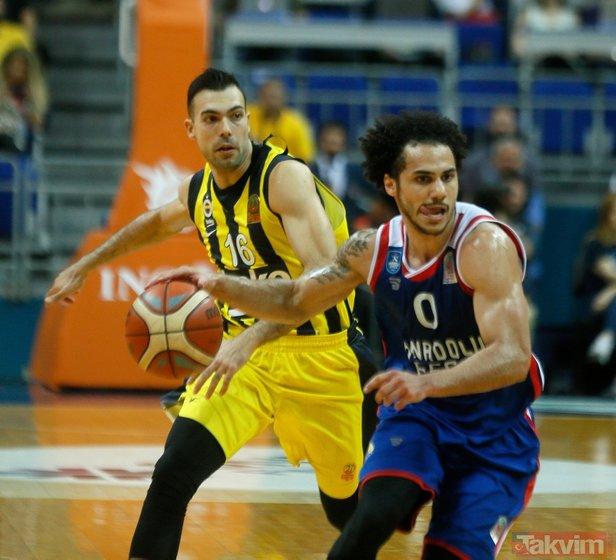 Fenerbahçe Beko kendi evinde yıkıldı!