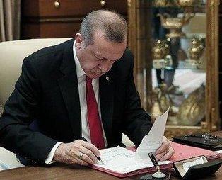 Son dakika: Başkan Erdoğan'ın imzaladığı atama kararlarıResmi Gazete'de