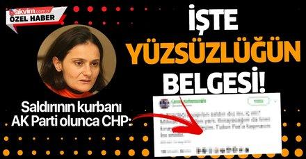 Canan Kaftancıoğlu'nun skandal paylaşımı CHP'nin ikiyüzlülüğüne ortaya koydu