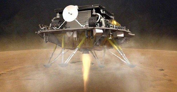 Zhurong Mars'a iniş yaptı!