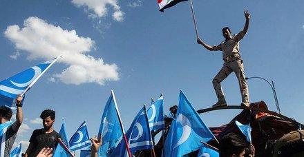 Kerkük'teki seçim merkezi silahlı kuşatma altında