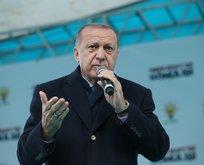 Başkan Erdoğan: Ezanı ıslıklayanların arkasında CHP ve HDP var