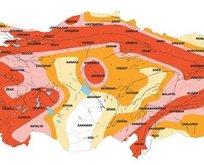 Türkiyenin yeni deprem haritası! 22 yıl sonra değişti...