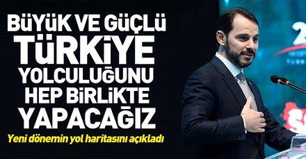 Bakan Berat Albayrak Hedef 2023 Büyük Türkiye Zirvesi'nde konuştu