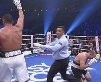 Suriyeli boksör Mahmut Ömer tarih yazdı