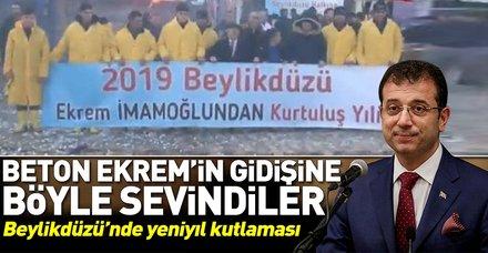 Beylikdüzü'nde yaşayan vatandaşlar Ekrem İmamoğlu'ndan kurtulmayı kutluyor