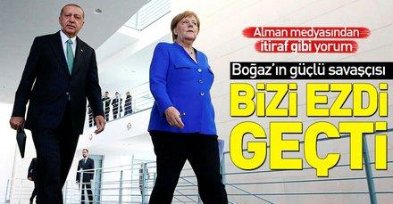 Alman medyası Başkan Erdoğanın ziyaretini değerlendirdi: Bizi ezdi geçti