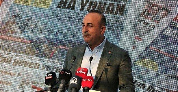 Bakan Çavuşoğlu: Bir ulusal güvenlik meselesi