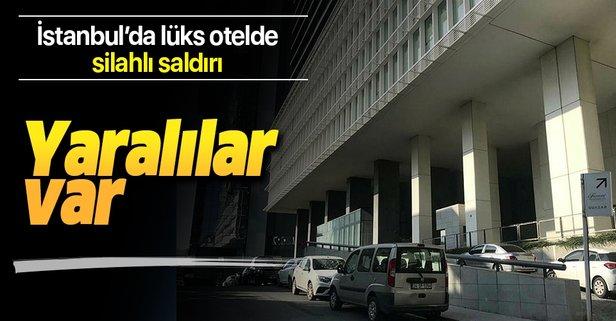 İstanbul'da otel odasında silahlı saldırı