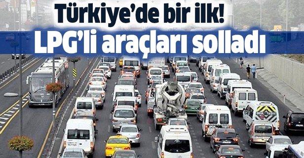 Türkiye'de bir ilk! Dizel araçlar LPG'li araçları solladı!