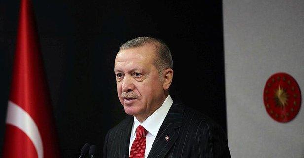 Erdoğan'dan anlamlı paylaşım