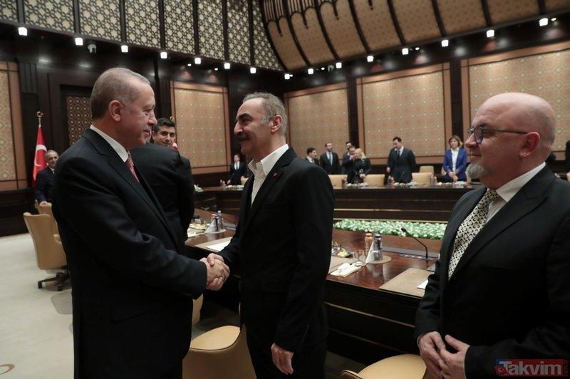 Başkan Erdoğan'dan Oktay Kaynarca'ya reis esprisi