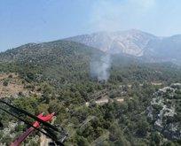Muğla'daki orman yangınına acil müdahale