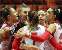 19 Yaş Altı Kız Voleybol Milli Takımı şampiyon oldu